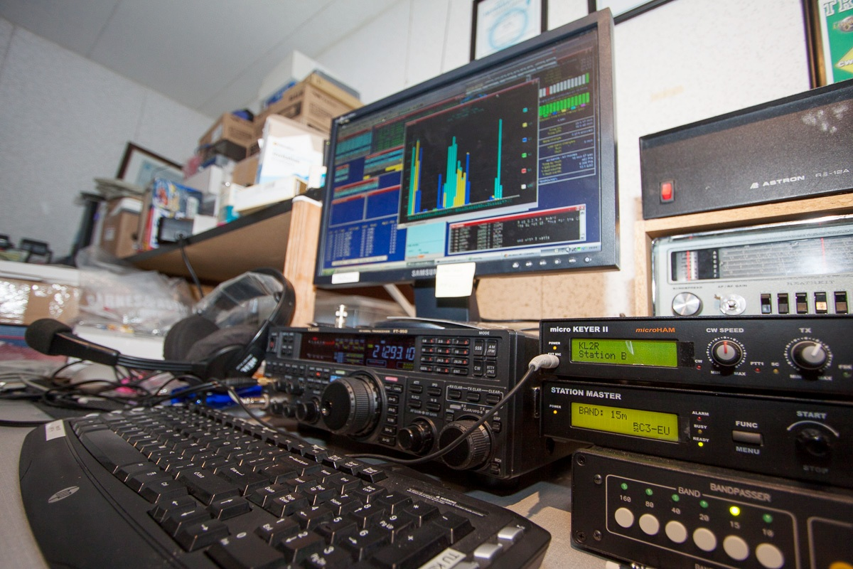 major competition stations ham radio In the SSB contest, KL1Y, KL1SE, and N1TX worked hard for contacts. KL1JP  took ill but provided a badly needed multiplier ...